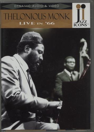 MONK, THELONIOUS - Live In '66 - DVD
