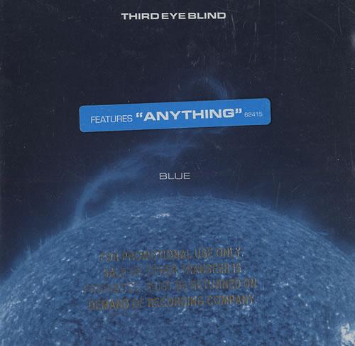 Third Eye Blind Blue Usa Promo Cd Album 62415 2 Blue Third