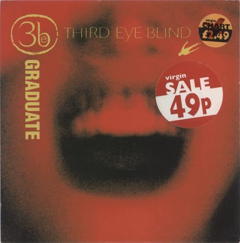 Third Eye Blind Graduate Uk 7 Vinyl Record E3883 Graduate Third Eye