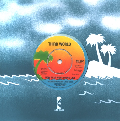third world now that we've found love