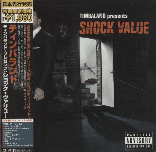 TIMBALAND - Shock Value + Obi - CD