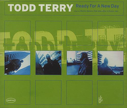 TERRY, TODD - Ready For A New Day - CD