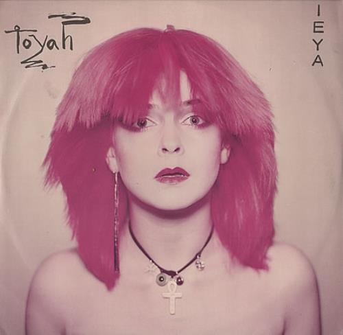 Toyah Ieya - White Vinyl UK 12