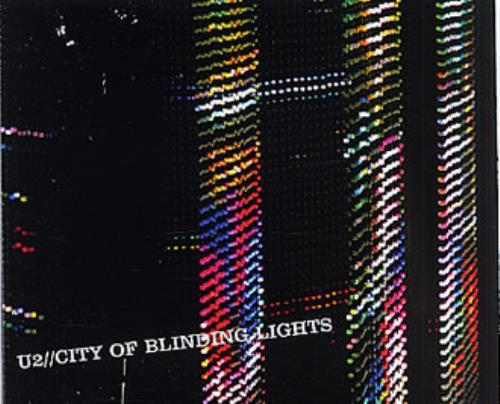 U2 - City Of Blinding Lights