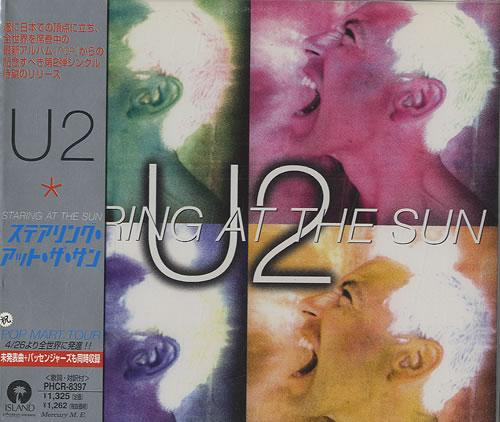 U2 Staring At The Sun Vinyl Records Lp Cd On Cdandlp