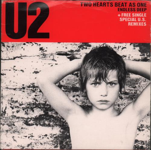 u2 two hearts beat as one - double pack