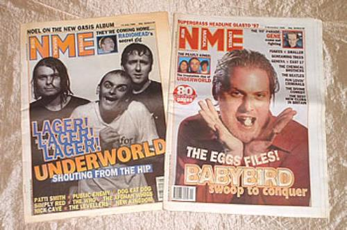 UNDERWORLD - NME - Set of 2 magazines - Others