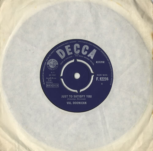 DOONICAN, VAL - Just To Satisfy You - 7inch x 1