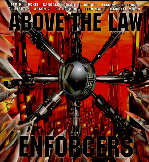 VARIOUS - DRUM & BASS JUNGLE - Above The Law - Enforcers - LP