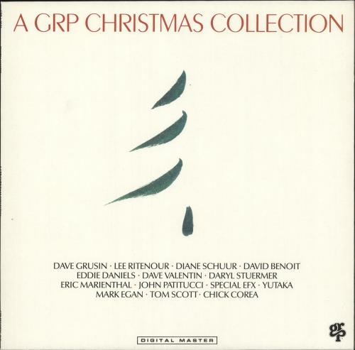 VARIOUS - JAZZ - A GRP Christmas Collection - 12 inch 33 rpm