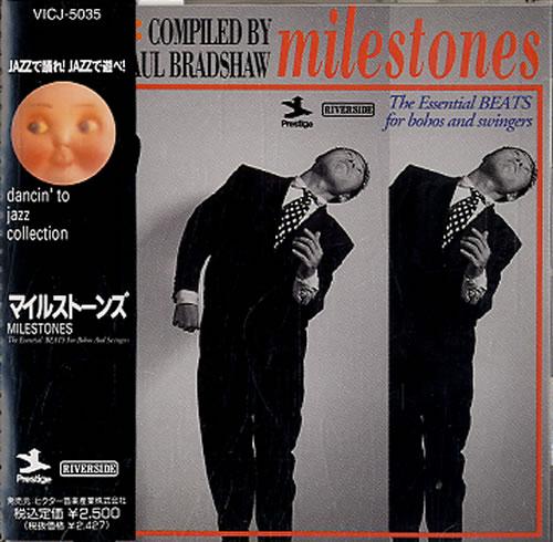 VARIOUS - JAZZ - Milestones - CD