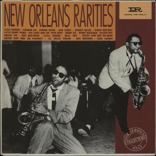 VARIOUS - JAZZ - New Orleans Rarities - Maxi 33T