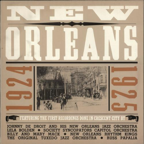 VARIOUS - JAZZ - New Orleans 1924-1925 - Maxi 33T