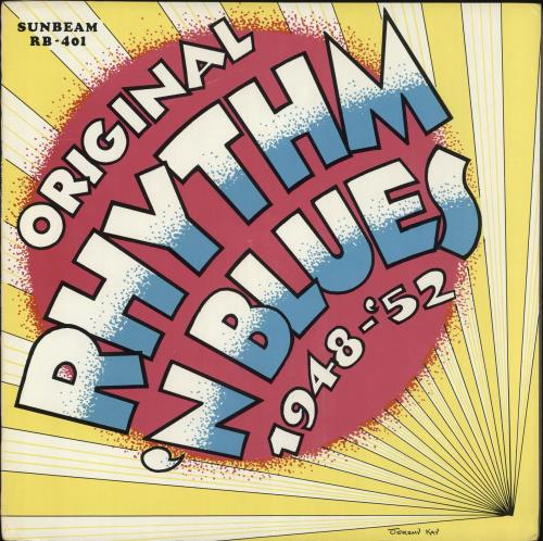 VARIOUS - JAZZ - Rhythm & Blues In The 40's & 50's - Maxi 33T