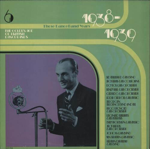 Various - Jazz The Golden Age Of British Dance Bands 1938-1939