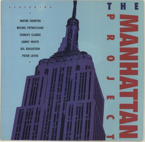 VARIOUS - JAZZ - The Manhattan Project - Maxi 33T