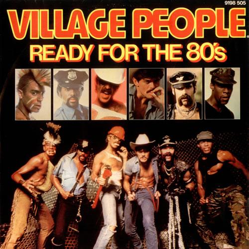 Strange Village People Ready For The 80S Uk 12 Vinyl Record Maxi Single Short Hairstyles For Black Women Fulllsitofus