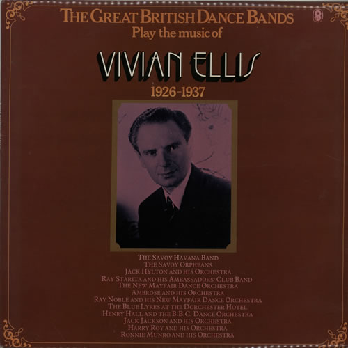 ELLIS, VIVIAN - The Great British Dance Bands Play The Music Of Vivian Ellis - 12''33回転