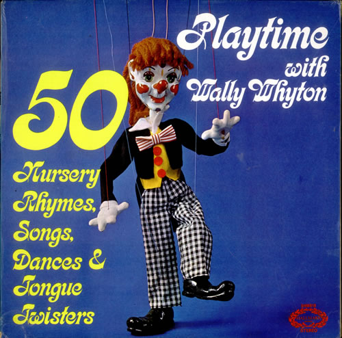 Wally Whyton Playtime With Wally Whyton Uk Vinyl Lp Record