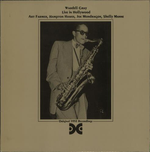 GRAY, WARDELL - Live In Hollywood - 12 inch 33 rpm