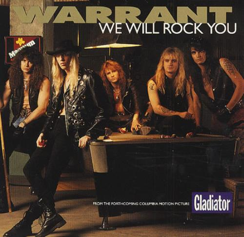 Warrant We Will Rock You Usa Promo 5 Quot Cd Single Csk74207