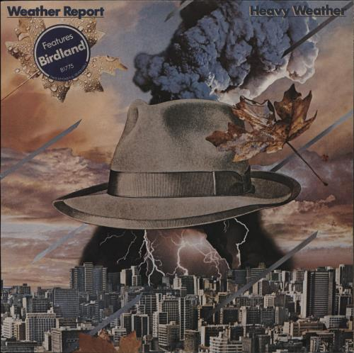 WEATHER REPORT - Heavy Weather - Stickered - 12 inch 33 rpm