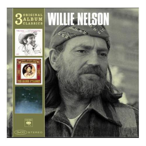 Willie Nelson Original Album Classics Uk Triple Cd