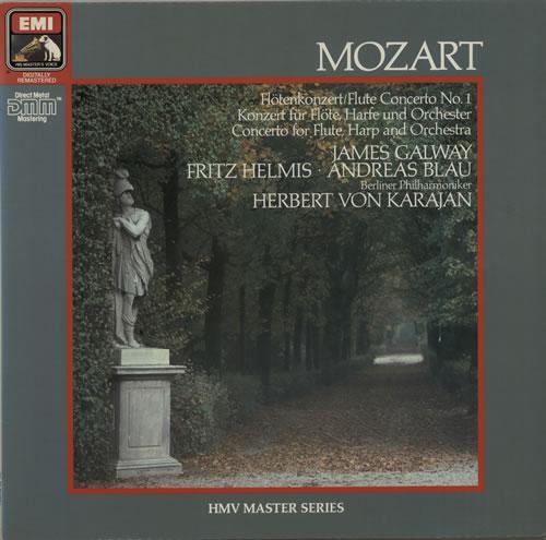 Wolfgang Amadeus Mozart Flute Concerto No  1 / Concerto For Flute