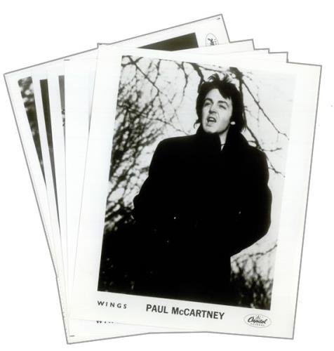 Paul Mccartney And Wings London Town USA Promo Press Pack PRESS PACK
