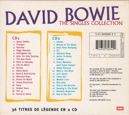 bowie the singles collection