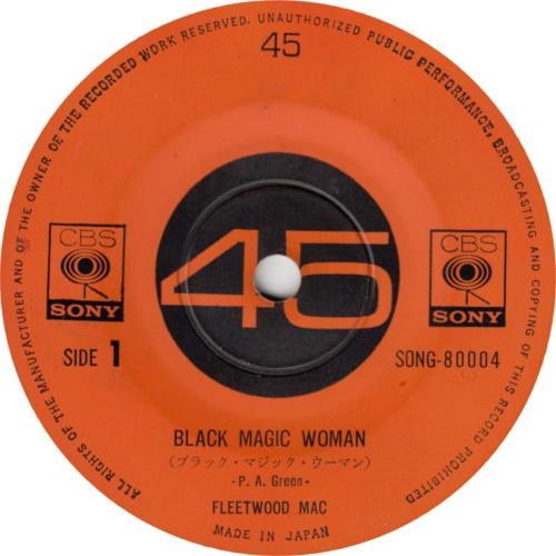 Fleetwood mac black magic woman single