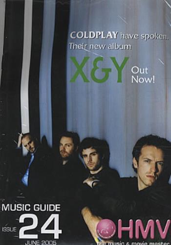 Coldplay X&Y Hong Kong Cd Album 0094631128028 X&Y Coldplay