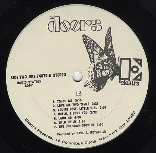 Price Info  sc 1 st  991.com (Rare Vinyl) & The Doors 13 USA Promo Vinyl LP Record EKS-74070 13 The Doors EKS ...