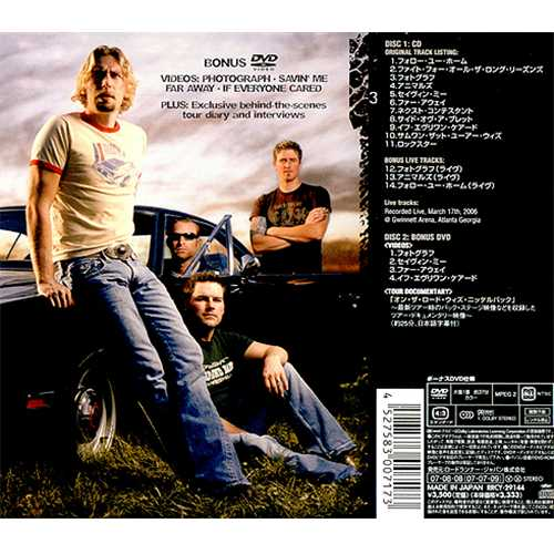 Nickelback All The Right Reasons Japan Cddvd Set Rrcy 29144 All The