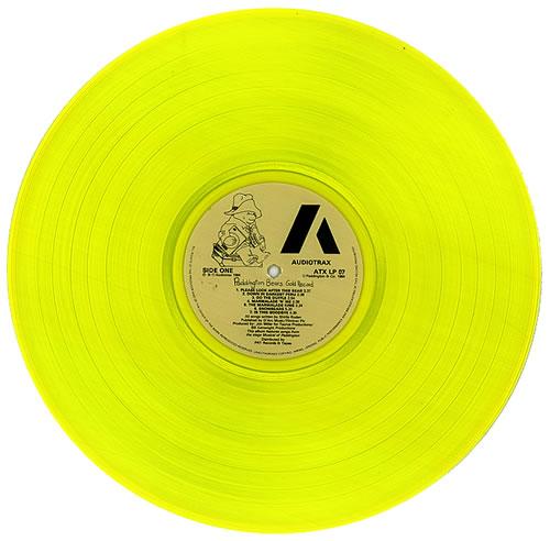 Paddington Bear Paddington Bear S Gold Record Gold Vinyl