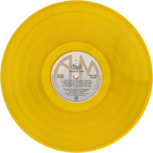 styx pieces of eight gold vinyl canada vinyl lp record sp 4724