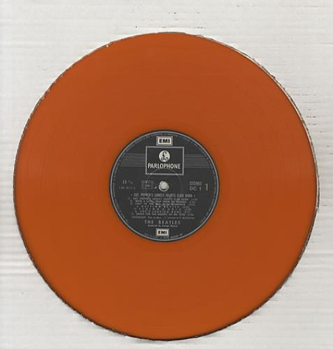 The Beatles Sgt Pepper S Orange France Vinyl Lp Record