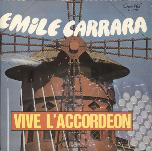 CARRARA, ÉMILE - Vive L'Accordeon - 45T x 1